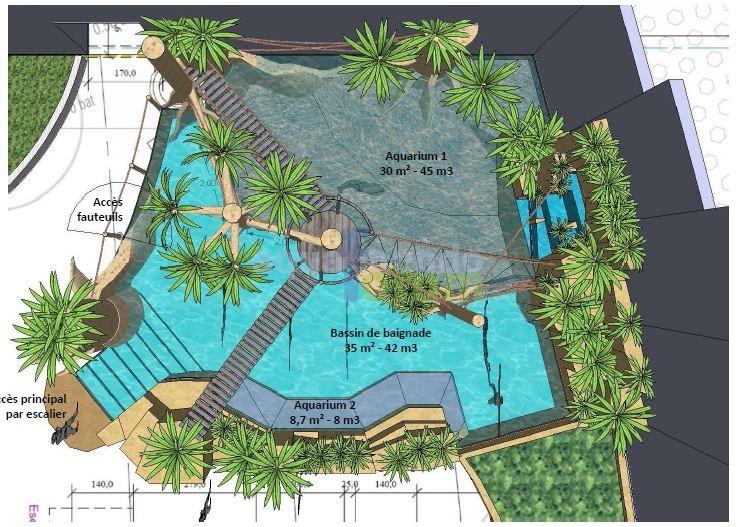 Center Parc Bois Aux Daims Aqua Mundo - Aqua Mundo Forum Center Parcs (Vienne) Le Bois aux Daims krijgt Cenote Pool in de Aqua Mundo